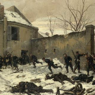 성을 공격하는 군인들