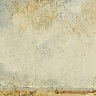노르망디 해안의 전경
