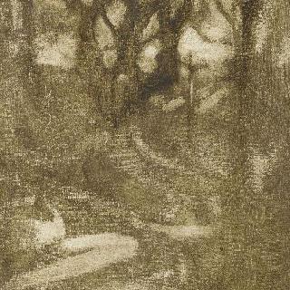 나무들이 있는 풍경