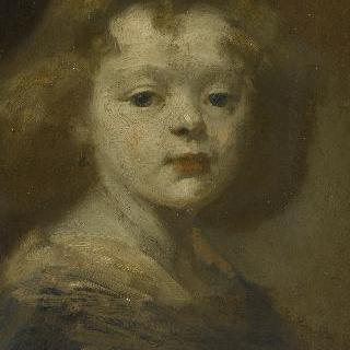 아이의 반신상 : 엘리자베스 카리에르