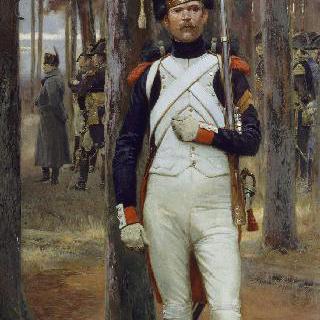 나폴레옹의 근위대의 정예 보병
