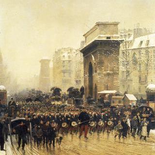 행진하는 군대