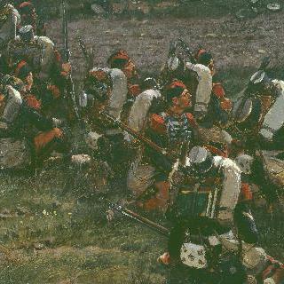 나폴레옹 근위대의 정예 선발대