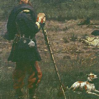 황제 친위대의 고적대장과 그의 개