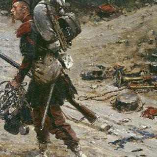 물을 담당하는 나폴레옹 근위대의 정예병