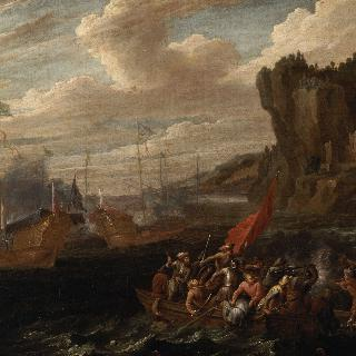 터키와 에스파냐인들의 싸움