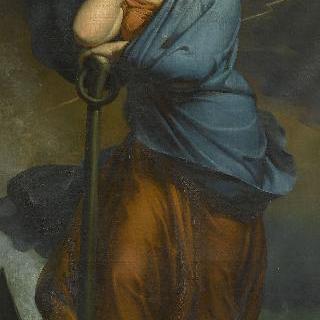 닻에 의지하는 인내의 여신