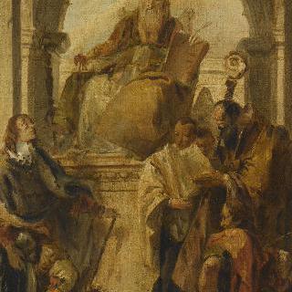 성 아우구스티누스, 루이 드 프랑스, 전도사 장과 주교