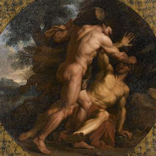 아켈로스와 싸우는 헤라클레스