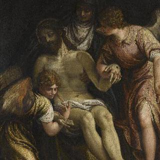 그리스도를 애도하는 성모와 두 천사