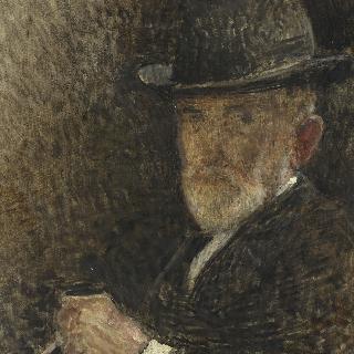 모자를 쓴 화가의 초상