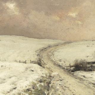 눈 내린 풍경