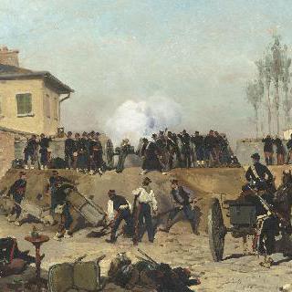 빌쥐프 전투, 파리 진지, 1870년 9월 19일