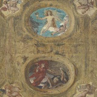 쥐스티스 궁전의 대실 천장을 위한 장식화