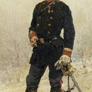 르네 르뇰 드 사비니 드 몽코르 자작의 초상