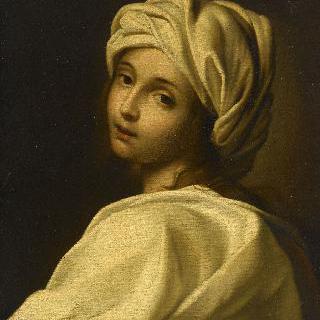 터번을 쓴 여인 - 베아트리체 첸치의 초상 모사작