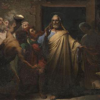 감옥에서 석방되는 성 베드로