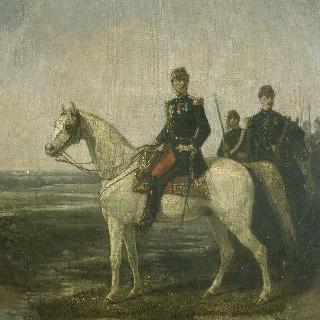 르브룅 장군과 그의 보좌관 라뵈브 대위