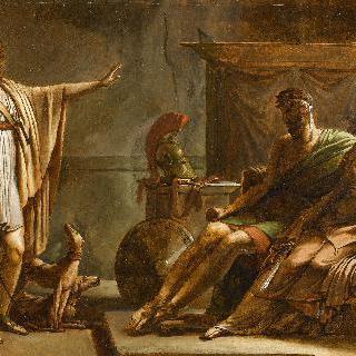 페드르와 이폴리트 (초벌화)