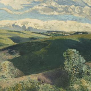 큰 그림자 ; 헤스트 풍경 (아르덴 풍경)