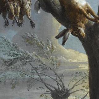 산토끼, 자고새와 사냥의 상징