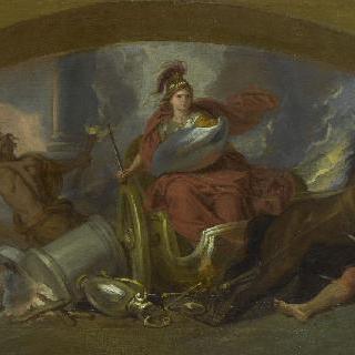 격노한 '벨로네', 전투의 여신