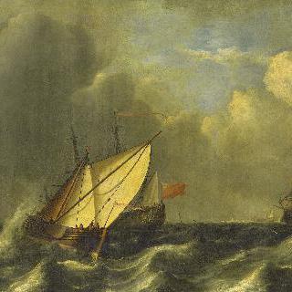 폭풍우 속의 함선