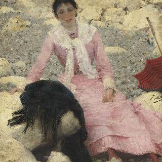 화가의 아내, 페르낭 마테 부인