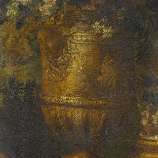 4월 황소자리: 베르사유 궁에서 산책중인 루이 14세