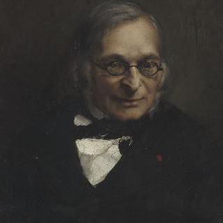 아돌프 프랑크의 초상 (1809-1893), 철학자