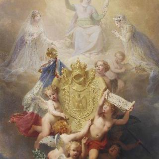 성녀 주느비에브에게 바치는 봉헌물