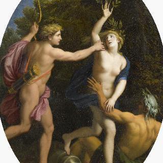 다프네를 뒤쫓는 아폴론