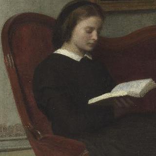 독서하는 여인, 화가의 누이 마리 팡탱 라투르