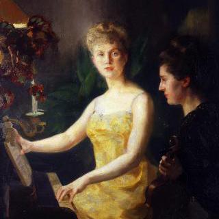 카르타고의 트루아 사람들 (피아노 교습)