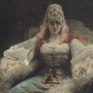사라 베른하르트의 초상