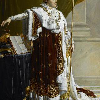 법적 통치자가 된 나폴레옹 1세의 초상