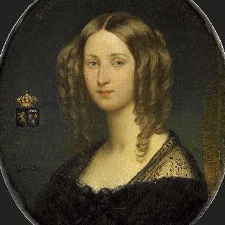 루이즈 도를레앙 공주의 초상, 벨기에 여왕