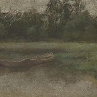 빌봉 연못의 버려진 배