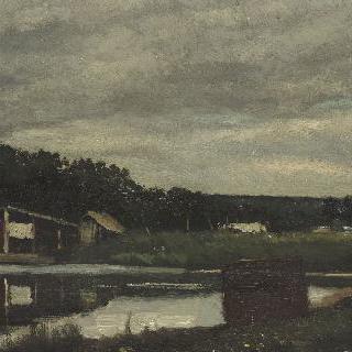 마를리 항구, 작은 연못