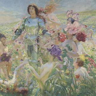 꽃밭의 기사