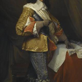 가시옹 백작, 장의 초상, 1643년 프랑스 총사령관