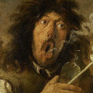 담배 피우는 남자
