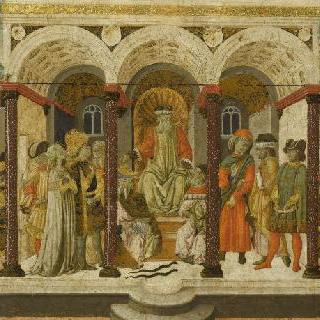 카소네 장식판 : 티베리우스 그라쿠스와 코르넬리우스