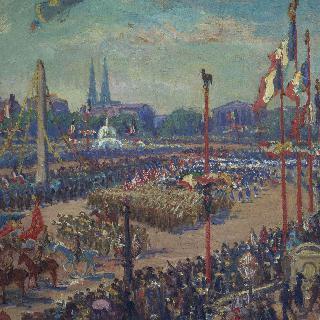 1919년 11월 11일, 콩코드 광장의 승전의 행렬