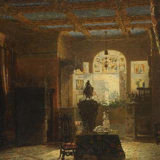 부르템베르그 공작 부인 마리 도를레앙의 작은 응접실