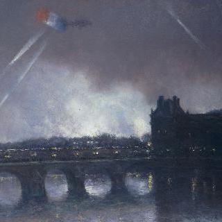 1920년, 11월 11일의 제1차 세계대전 휴전 기념일 (승리의 축제)