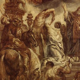 성녀 아폴린의 순교