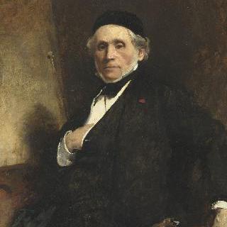 화가 로베르 플뢰리의 초상