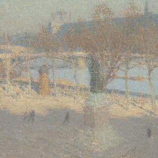 볼테르 언덕에서 바라본 센강 혹은 생-페르 다리