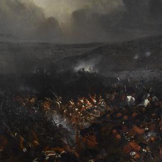 1854년 크리메 전투 동안의 세바스토폴 진지